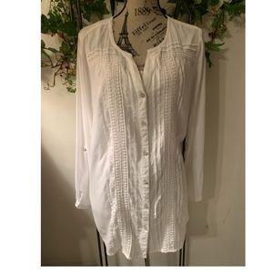 JM Collection•long sleeve blouse